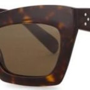 a91569b55f82 Celine Accessories - FABULOUS Celine Eva Cateye Sunglasses in Tortoise!